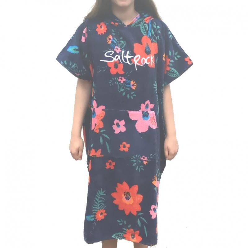 Saltrock Ladies Beach Changing Robe Ocean Bouquet