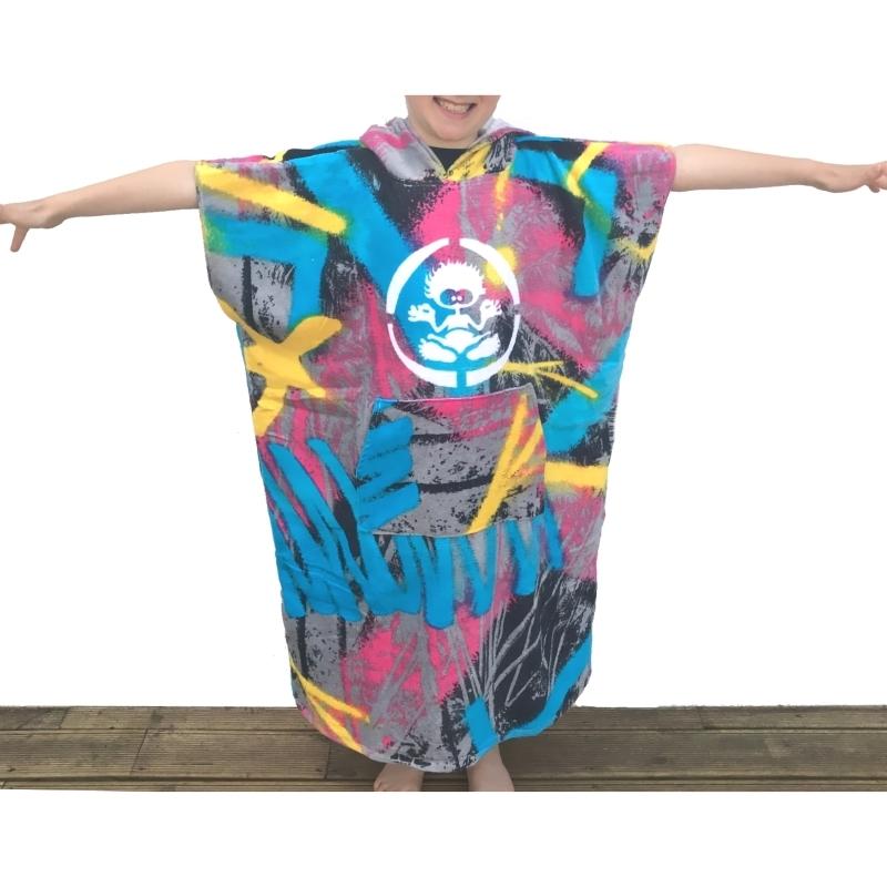 Saltrock Boys Graffiti Beach Changing Robe