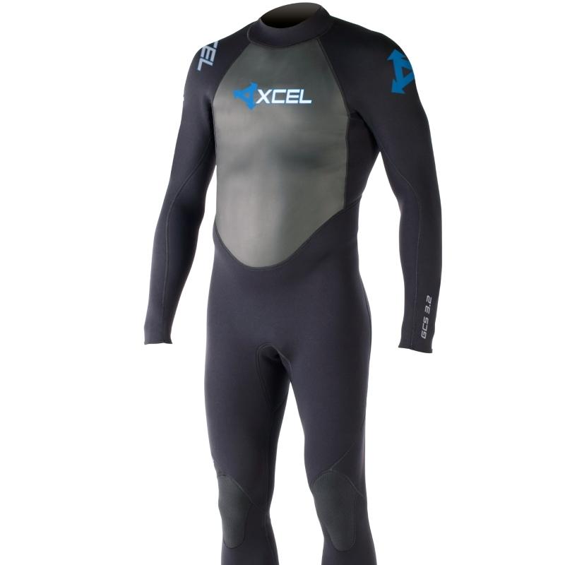Xcel 3/2mm GCS Mens Wetsuit Black