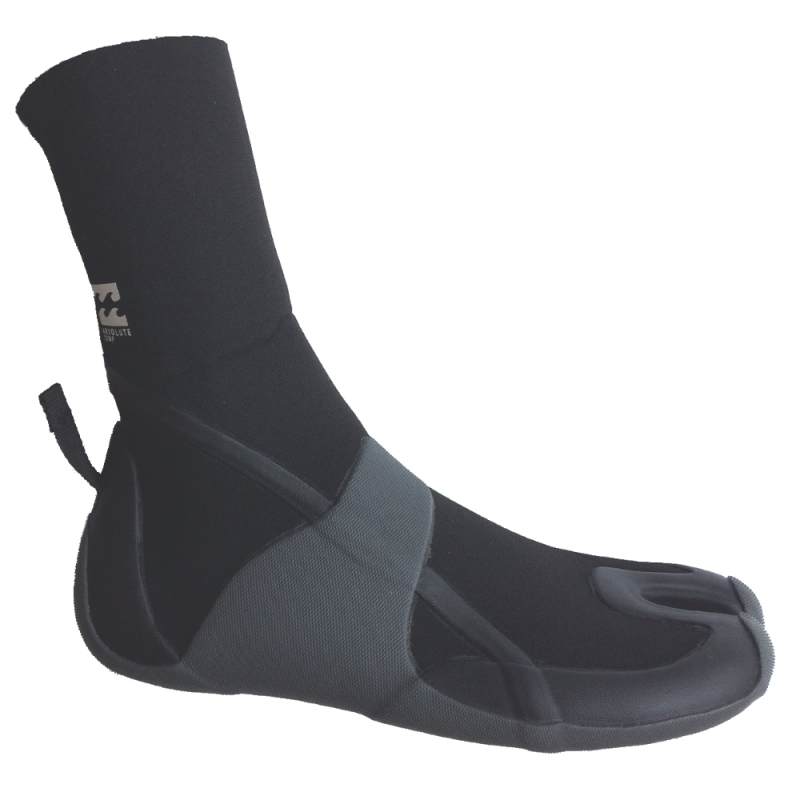 Billabong Mens 3mm Absolute Comp Split Toe Wetsuit Boots