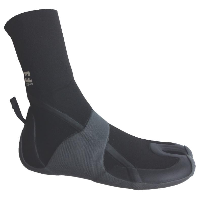 Billabong Mens 3mm Absolute Comp Split Toe Wetsuit Boots