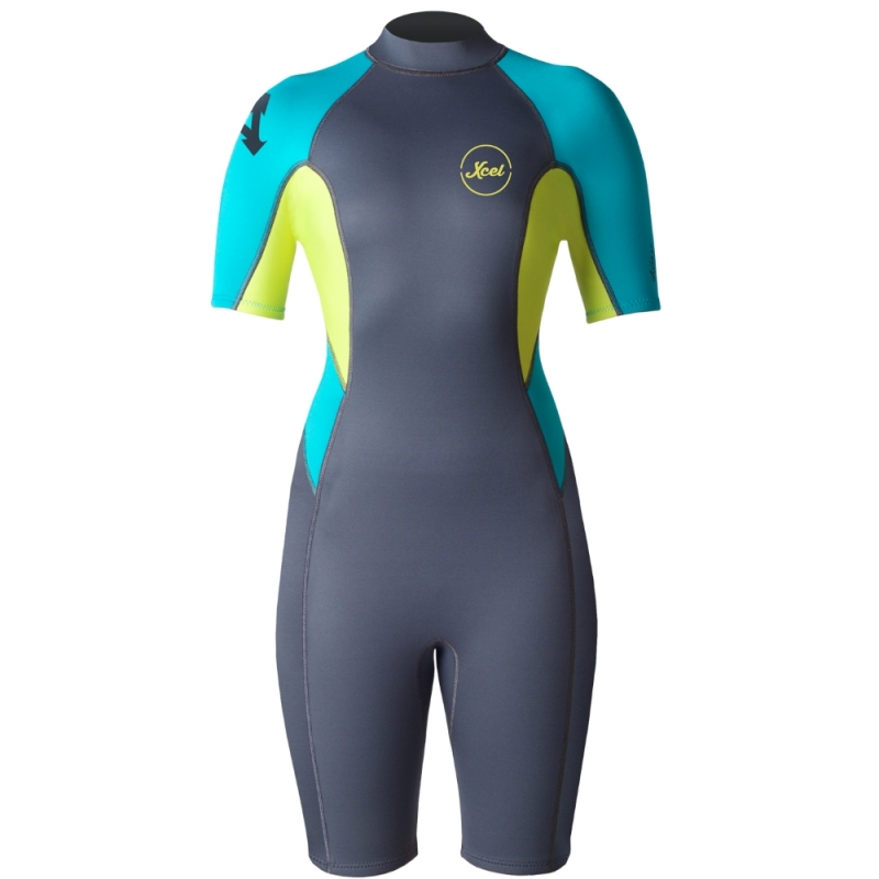 Xcel 2mm Womens Ilima Shorty Wetsuit