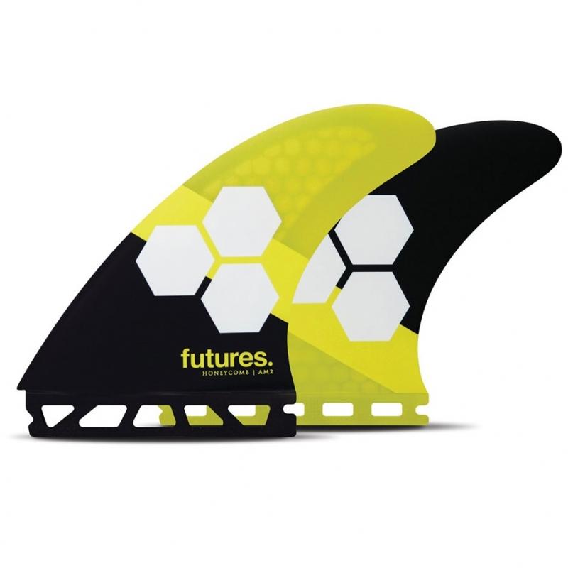Futures Fins AM2 Honeycomb Surfboard Tri Fin Set