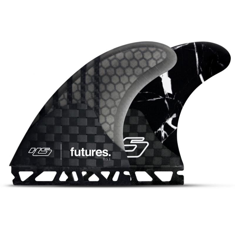 Futures Fins Hayden Shapes HS1 Thruster Surfboard Fin Set