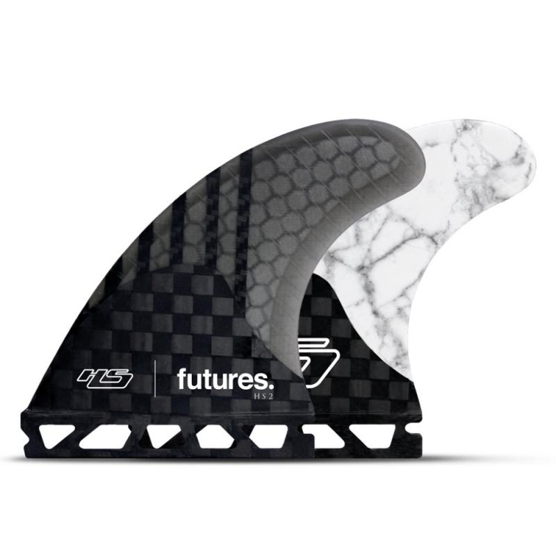 Futures Fins Hayden Shapes HS2 Thruster Surfboard Fin Set