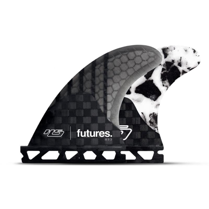 Futures Fins Hayden Shapes HS3 Thruster Surfboard Fin Set