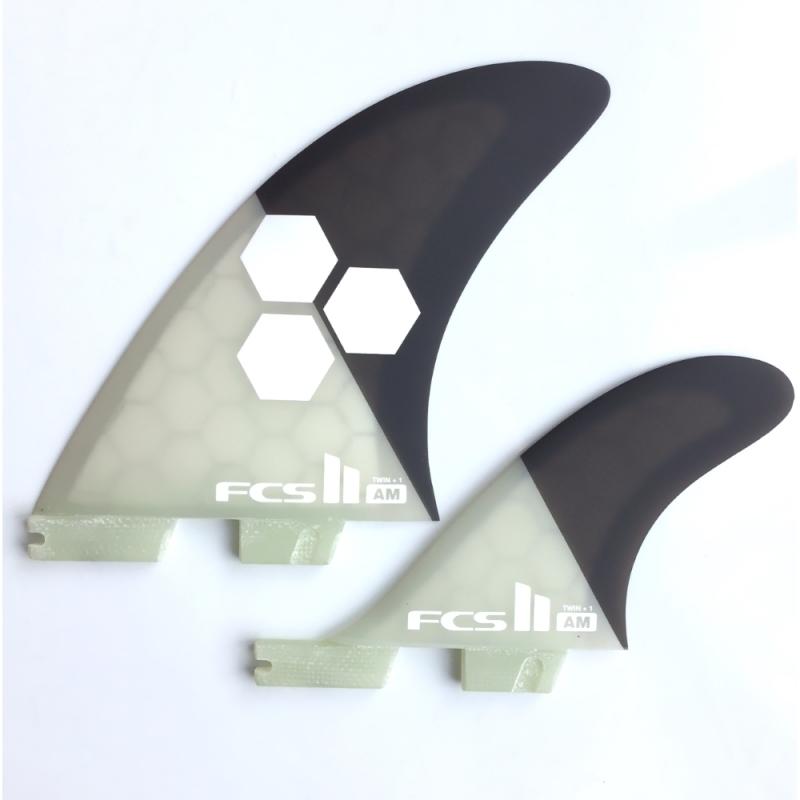 FCS II AM PC Twin Plus Surfboard Fins XL