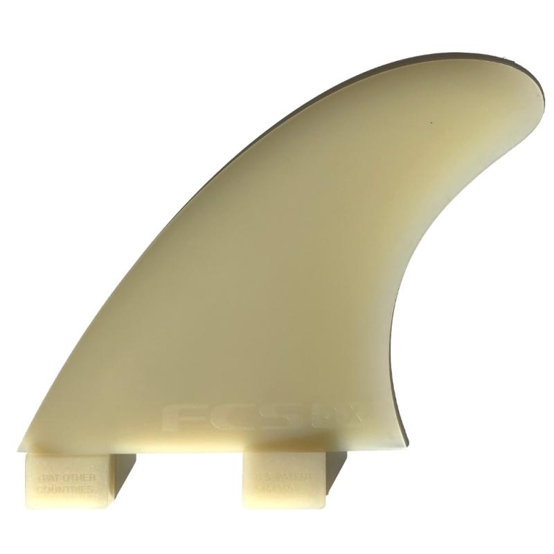 FCS GX Side Bite Fins For 2plus1 Longboard setups
