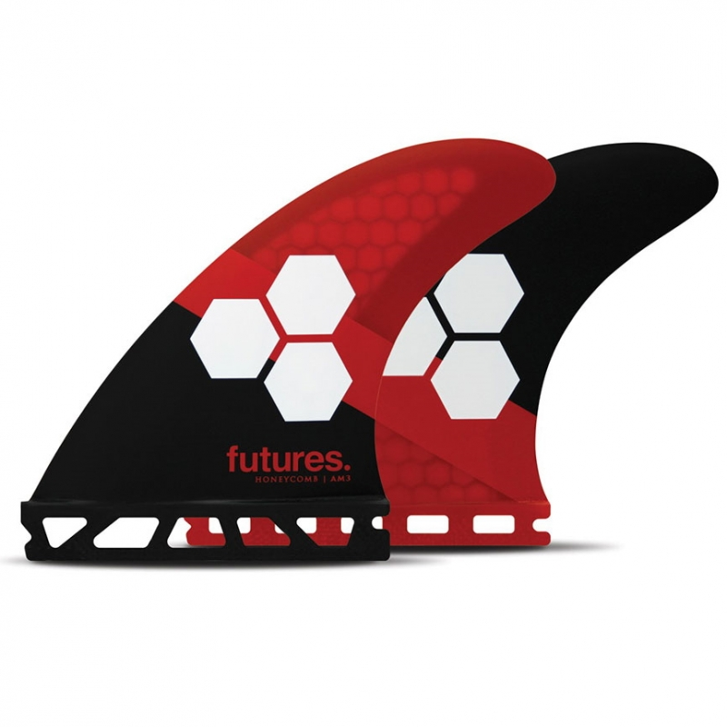 Futures Fins AM3 Honeycomb Surfboard Tri Fin Set