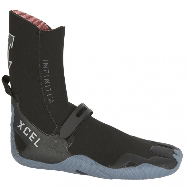 Xcel 5mm Infiniti Wetsuit Boots Round Toe
