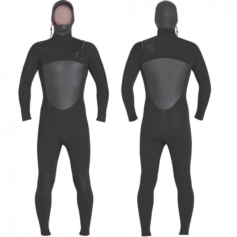 Xcel Wetsuits Infiniti 5/4mm TDC Hooded Chest Zip Wetsuit