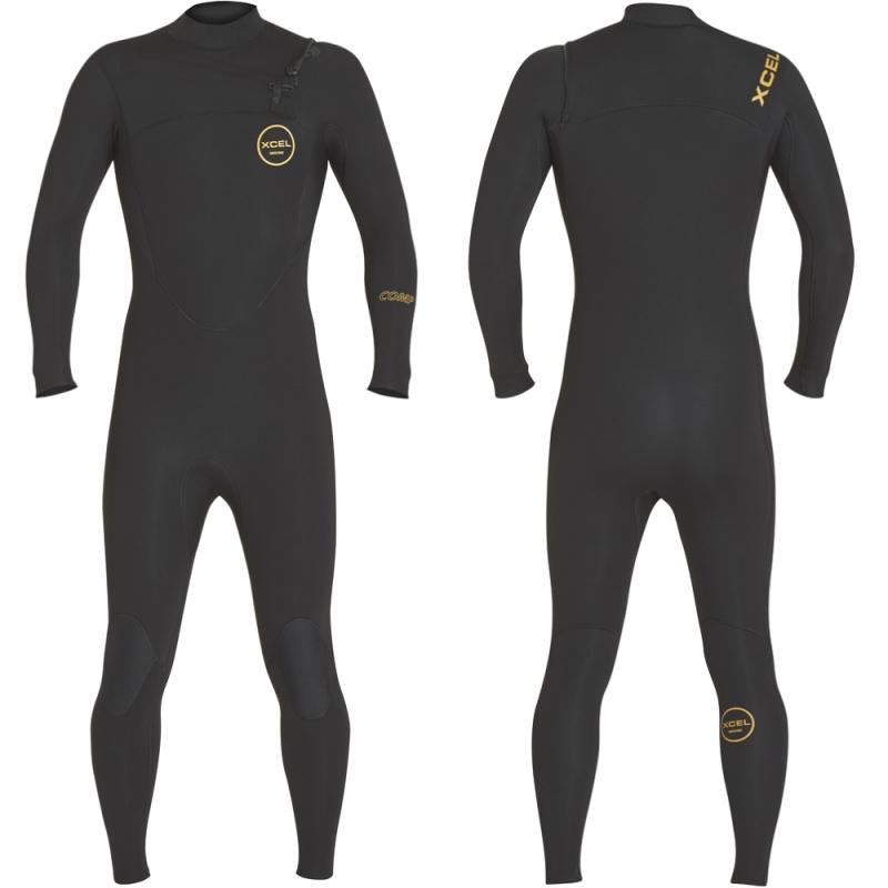 Xcel Wetsuits Comp 5/4mm Chest Zip Wetsuit