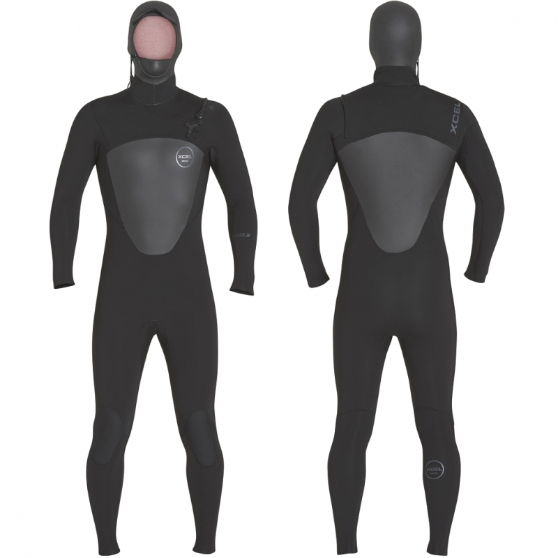 Xcel Wetsuits 5/4mm Axis X Hooded Wetsuit