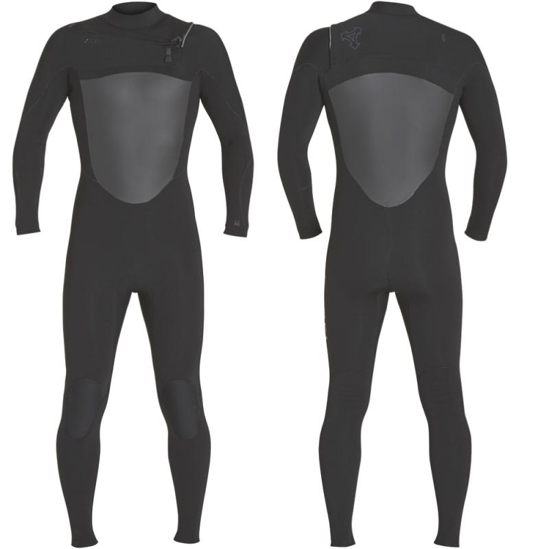 Xcel Wetsuits Infiniti 4/3mm TDC Chest Zip Wetsuit Black
