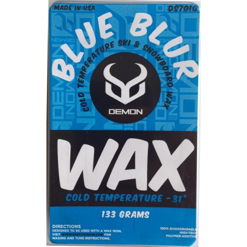 Demon Blue Blur Ski and Snowboard Wax