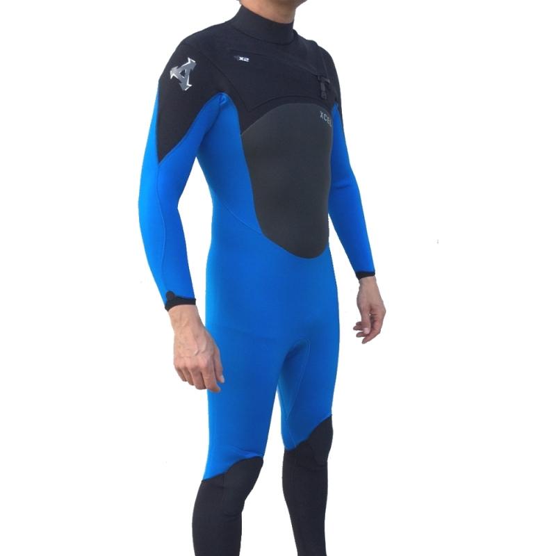 Xcel Revolt TDC 4/3mm Wetsuit Blue
