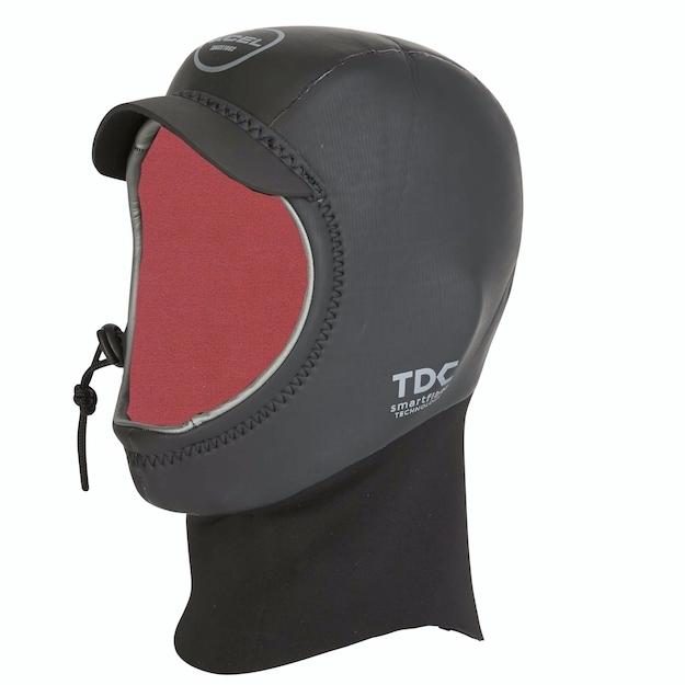 Xcel 2mm Celliant Black Drylock Wetsuit Hood