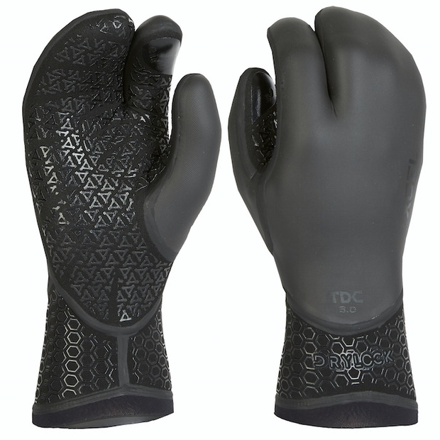 Xcel 5mm Celliant Drylock 3 Finger Claw Wetsuit Gloves