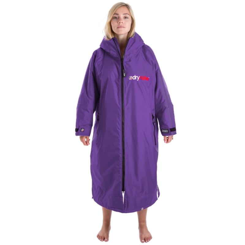 Dryrobe Advance Womens Purple Long Sleeve Beach Changing Robe