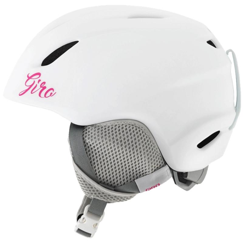 Giro Launch Girls Ski Snowboard Helmet Matt White Pink