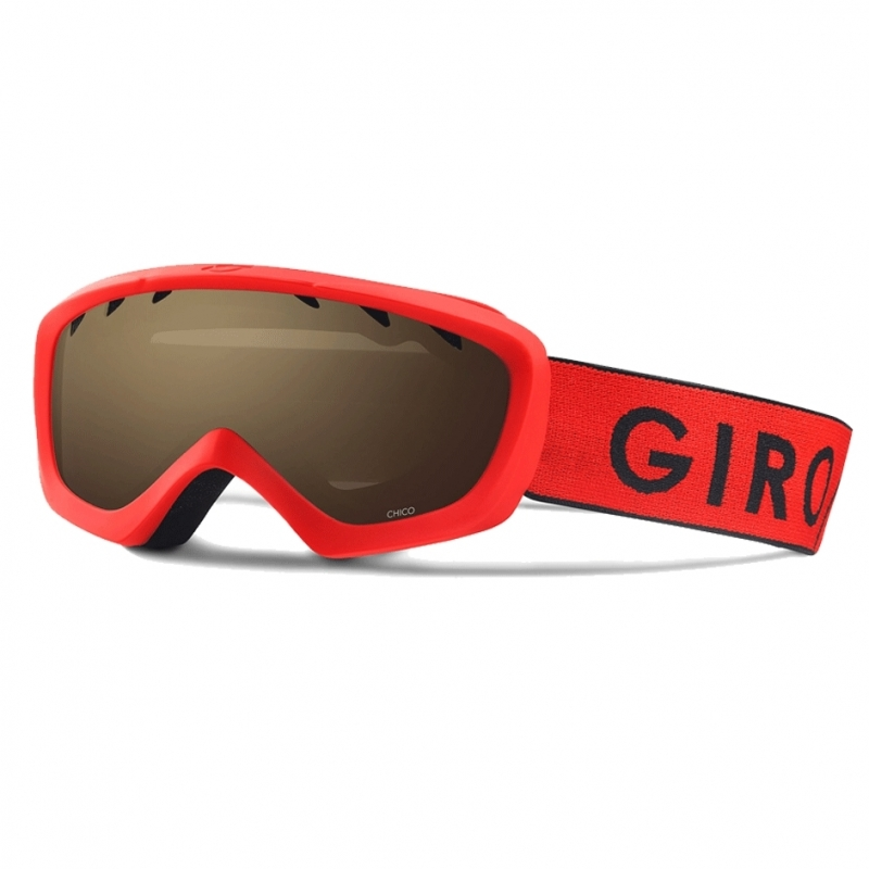 Giro Chico Kids Ski Goggles Red Black