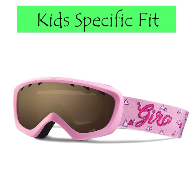Giro Chico Kids Ski Goggles Pink Magic Mountain