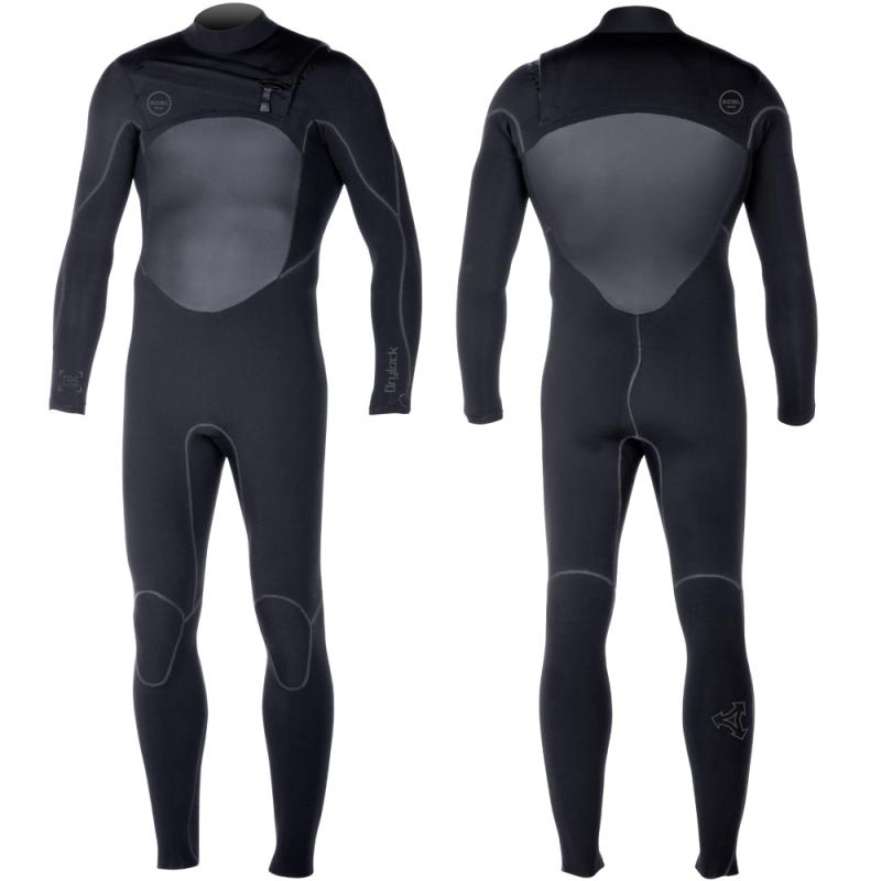 Xcel 4/3mm Drylock Powerseam Wetsuit Black