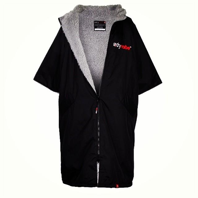 Dryrobe Advance Medium Robe Black Grey