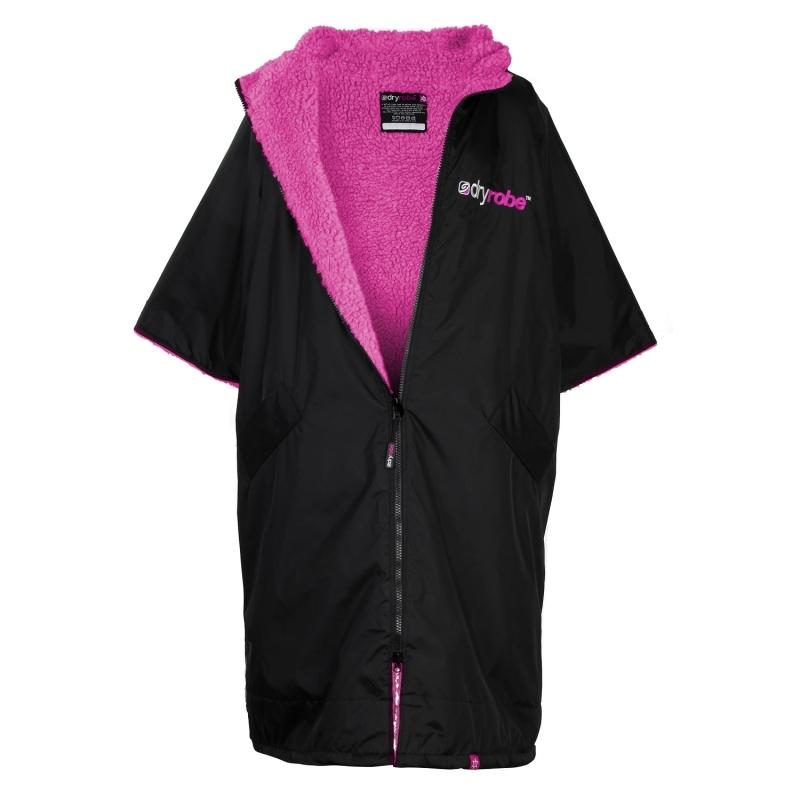 Dryrobe Advance Medium Robe Black Pink