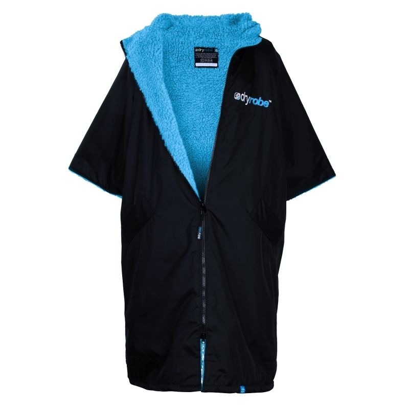 Dryrobe Advance Medium Robe Black Blue