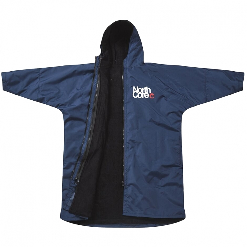 Northcore Beach Basha Pro 4 Season Changing Robe Blue 02fec0ce2