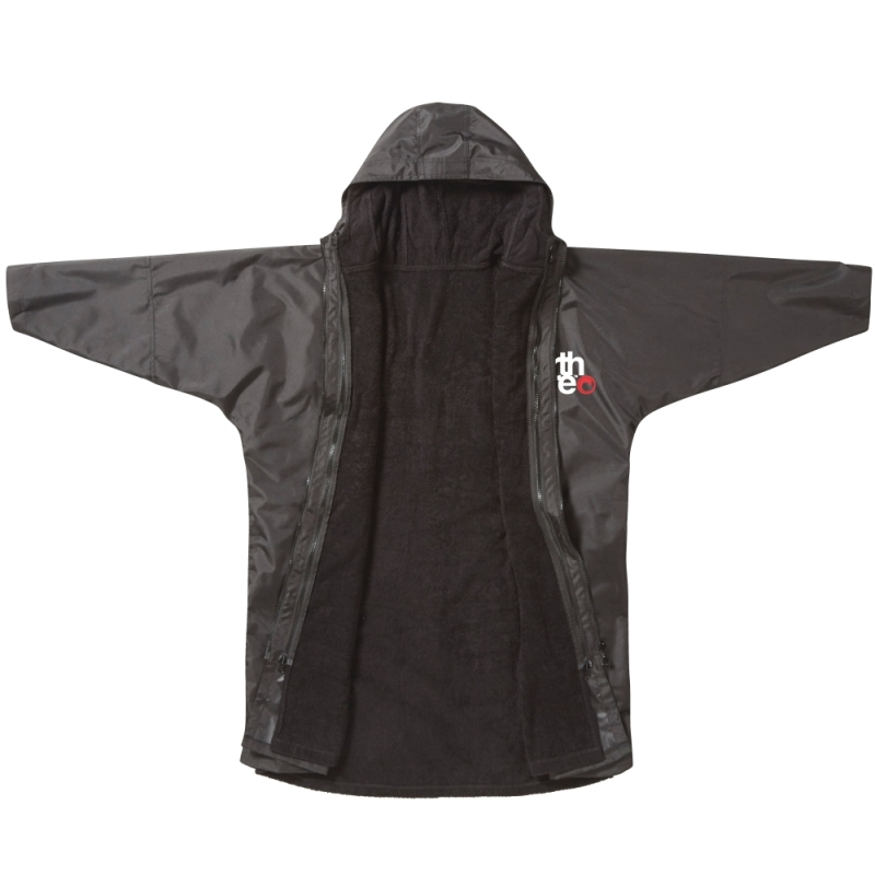 Northcore Beach Basha Pro 4 Season Changing Robe Black