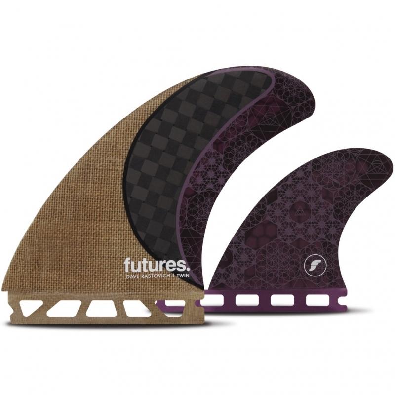 Futures Fins Rasta Twin Plus Fin Set