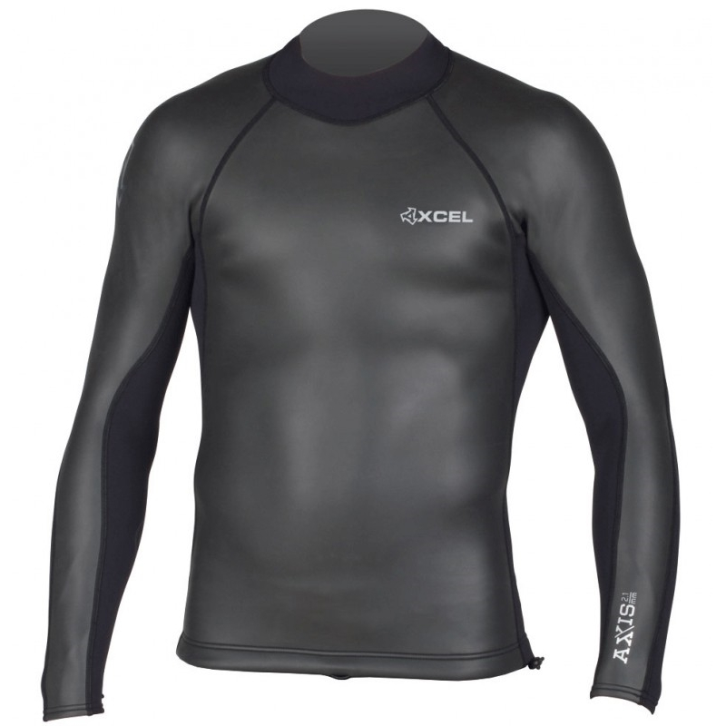 Xcel 2/1mm Axis Smoothskin Wetsuit Jacket Back Zip