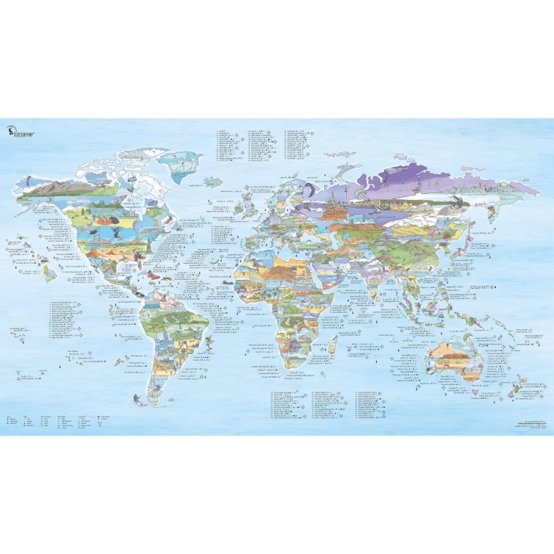 Uk In Map Of World.The Kitesurf Map