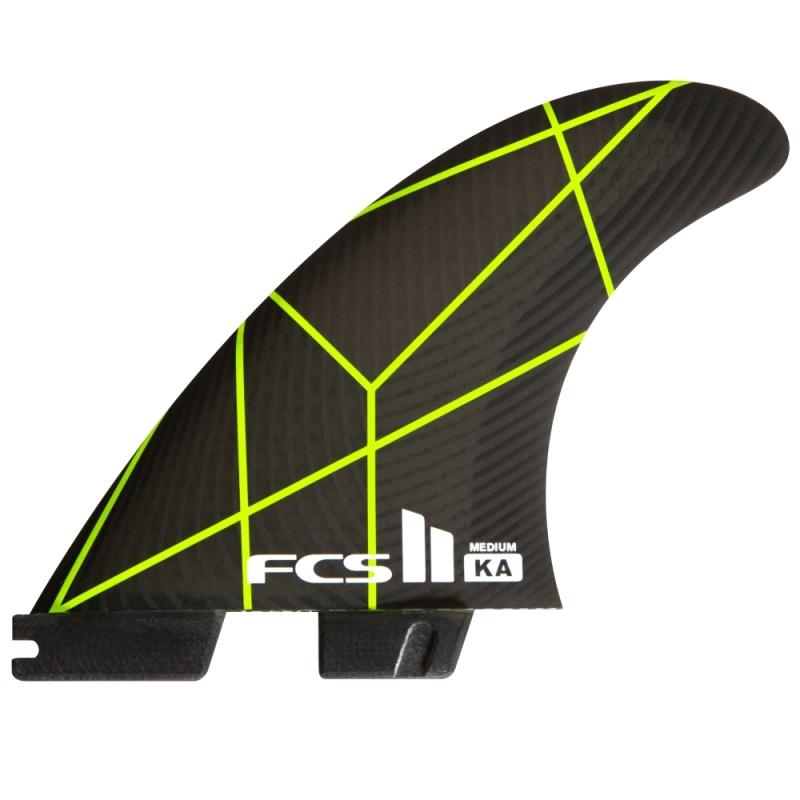 FCS II Kolohe Andino KA PC02 Thruster Surfboard fins Medium