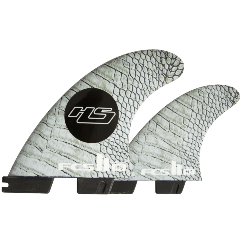 FCS II HS PCC TriQuad Surfboard Fin Set Medium