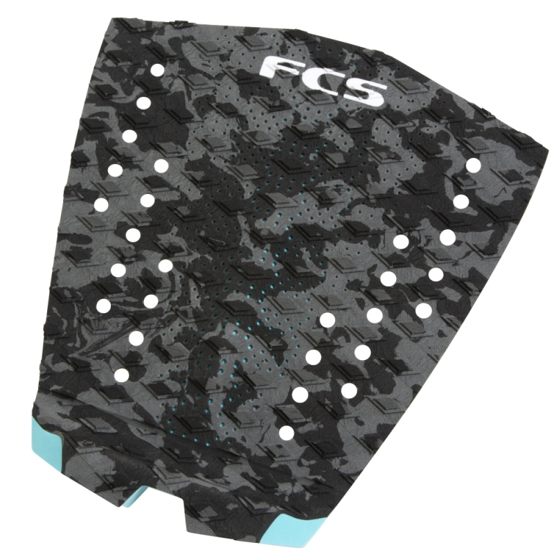 FCS T1 Surfboard Tail Pad Charcoal Camo
