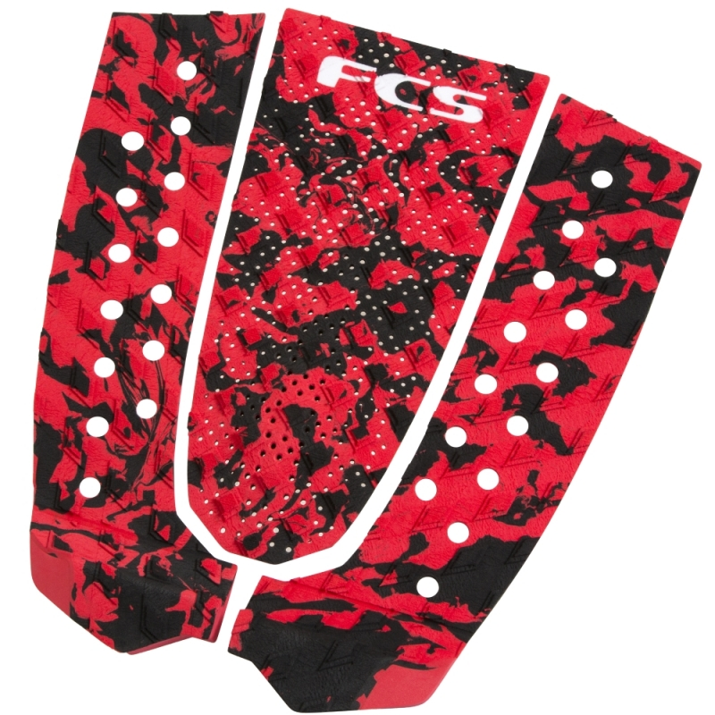FCS T3 Surfboard Tail Pad Flame Camo