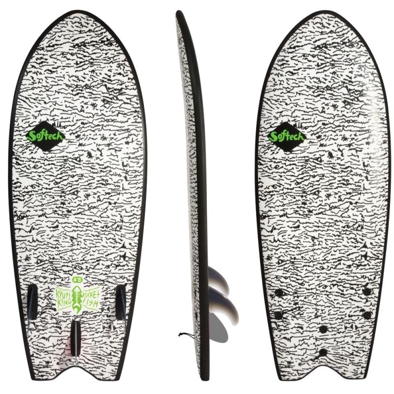 Softech Kyuss King Rocket Fish 4ft8 Soft Surfboard