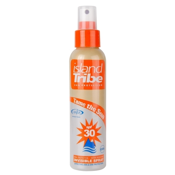 Island Tribe 125ml Clear Spray Sunscreen SPF30