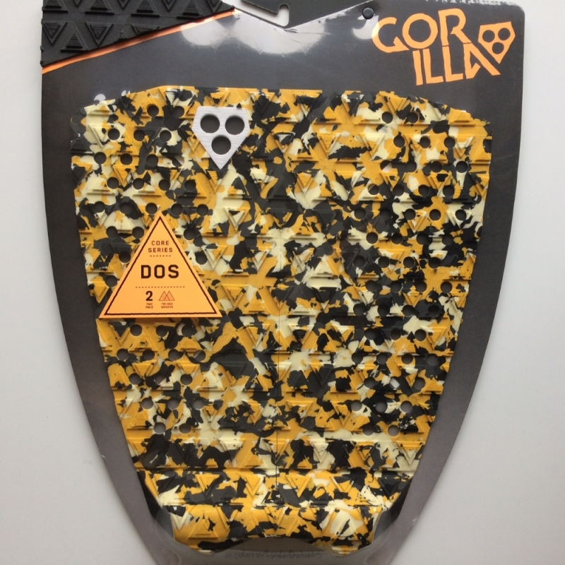 Gorilla Dos Surfboard Tail Pad Camo Pulped