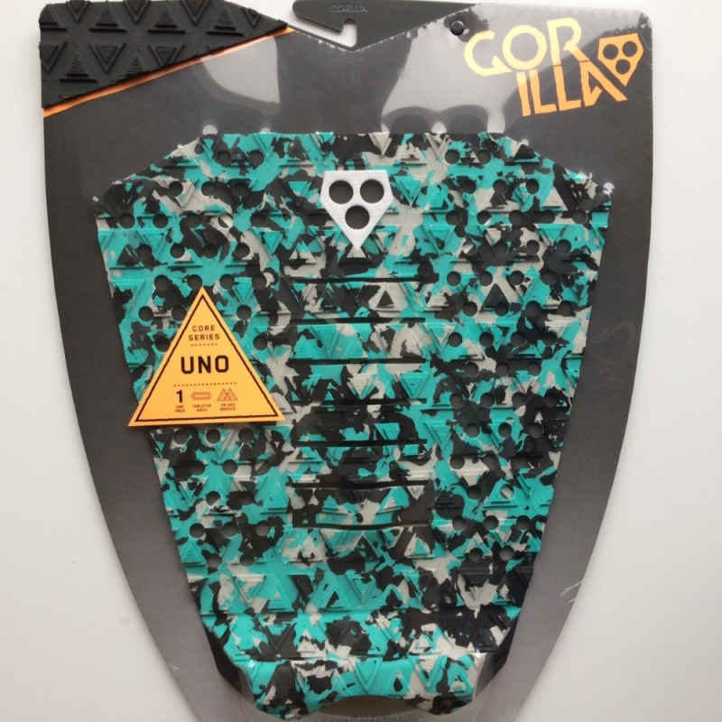 Gorilla Uno Surfboard Tail Pad Camo Aquatica