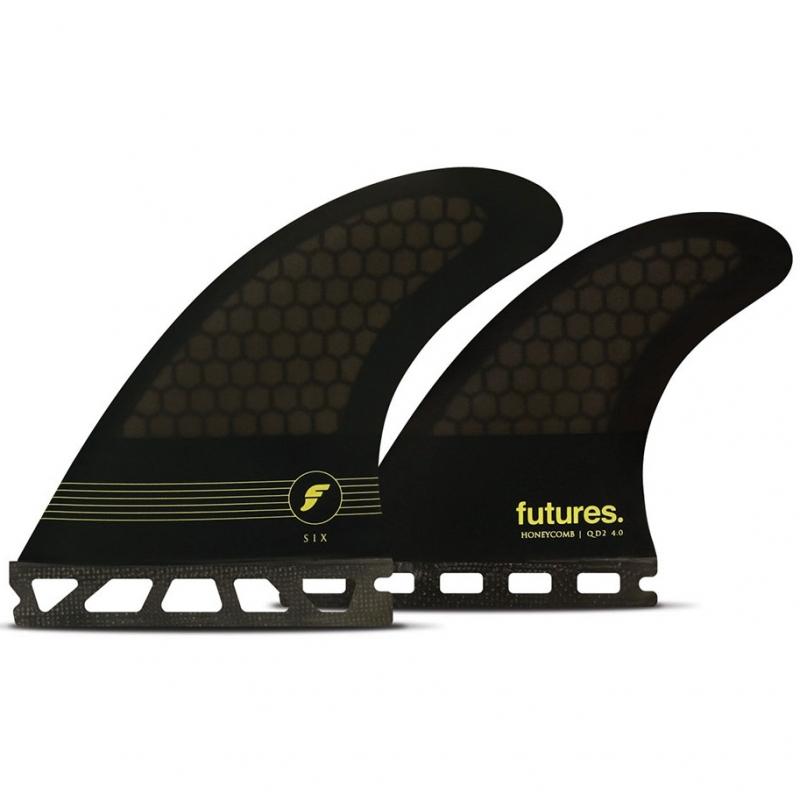 Futures Fins F6 Quad Surfboard Fin Set Honeycomb