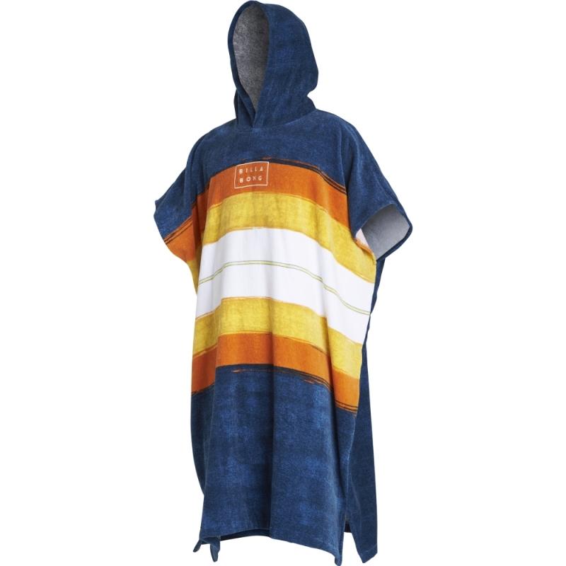 Billabong Hoodie Towelling Robe Slate