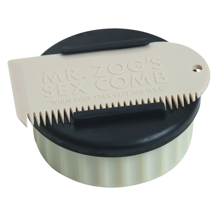 Surf Wax Pot and Comb by Sexwax