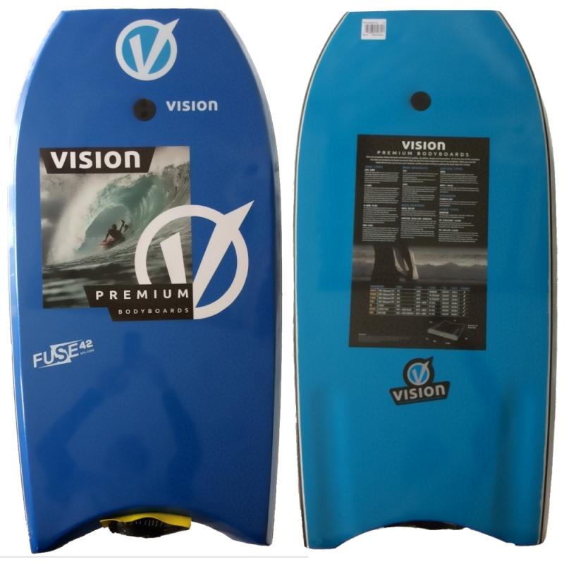 Vision Fuse Bodyboard 42 Inch Blue