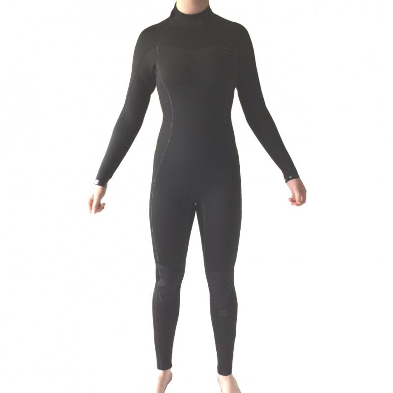 Billabong 3/2 Ladies Synergy Wetsuit Black Back Zip