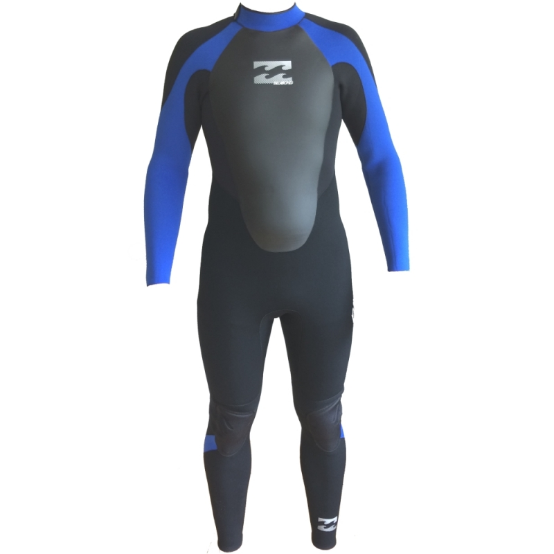 Billabong 3/2mm Intruder Mens Wetsuit Black Blue