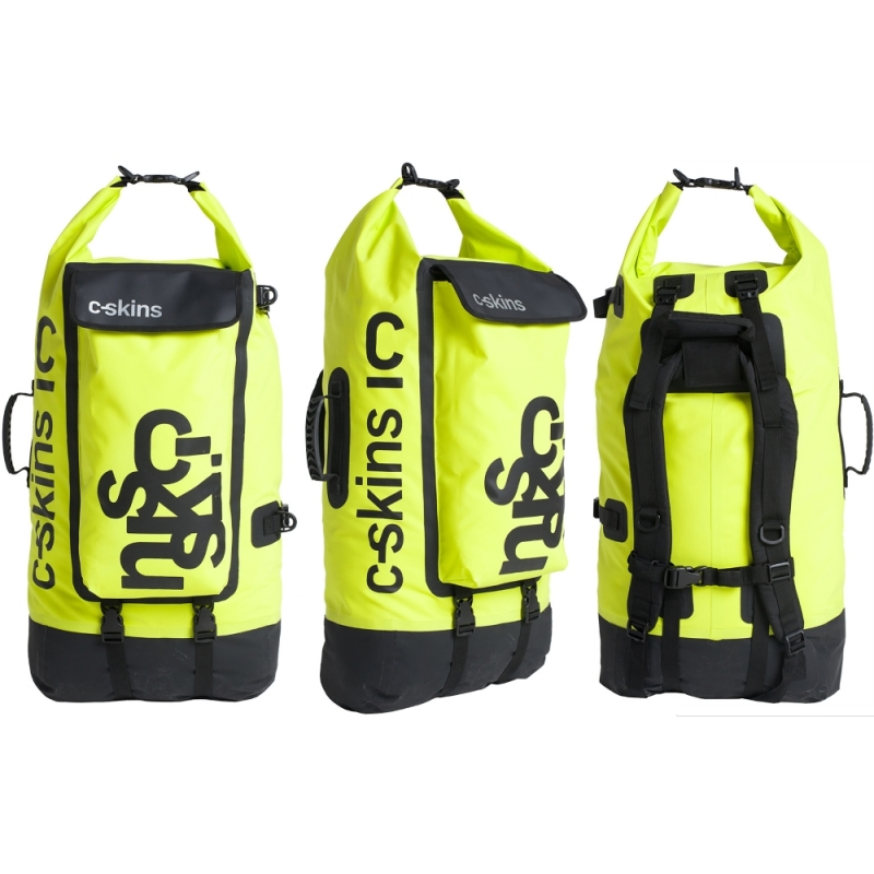 CSkins Wet Dry Backpack Lime 80 Litre